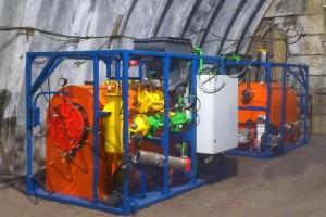 Установка пиролиза отходов УТД-1