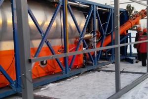 Переработка отходов бурения на УТД-2-800