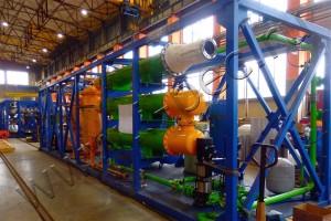 Установка УТД для переработки отходов коксохимии