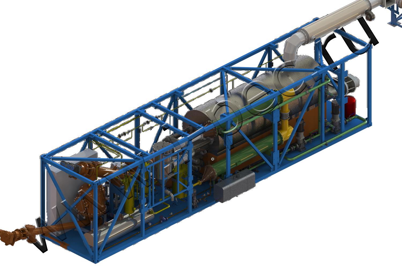 Установка термической деструкции (УТД-2-200)