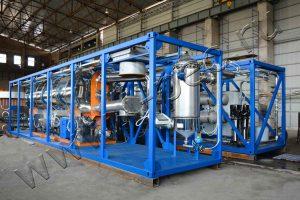 Установка утилизации нефтешламов УТД-2