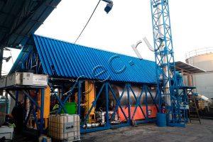 УТД-2-200М для пиролиза резервуарных нефтешламов