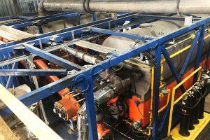 Утилизация бурового шлама на УТД-2 с усиленным реактором