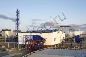 Установка переработки нефтешламов УТД-2-800