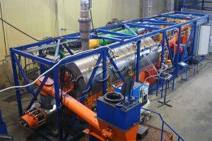 Установка утилизации нефтешламов серии УТД