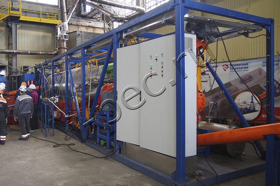 Установка переработки пластика УТД-2