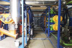 Оборудование УТД-2 для переработки буровых шламов и отходов бурения