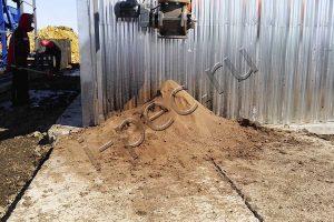 Технический грунт - продукт переработки отходов бурения