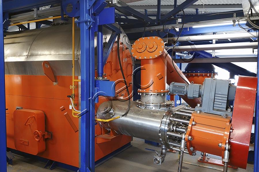 Утилизация нефтешламов на УТД-2