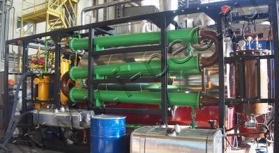 Комплекс получения топлива из отходов