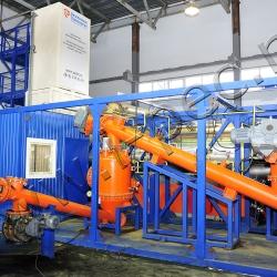 Оборудование для переработки шин УТД-2-800