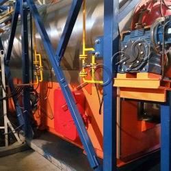 Оборудование пиролиза отходов УТД-2-800