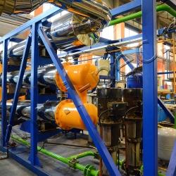 Печь пиролиза отходов УТД-2-800