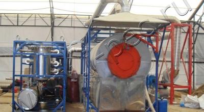 Переработка нефтяных отходов на УТД-1