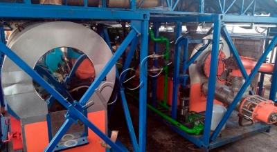 Установка переработки резервуарных шламов УТД-2-200М