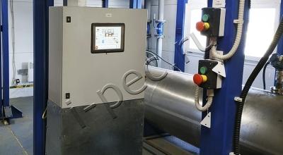 Управление установкой пиролиза УТД-2-800