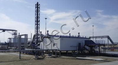 Установка переработки нефтешламов, УТД-2-800