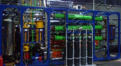 Установка переработки шин УТД-1