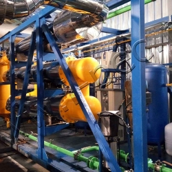 Установка пиролиза нефтяных отходов УТД-2-800 (2000)