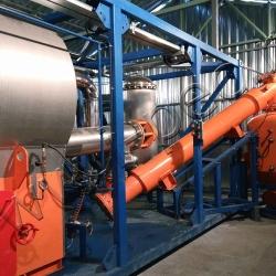 Установка пиролиза отходов УТД-2-800