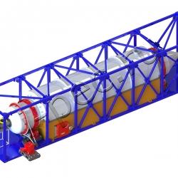 Установка пиролиза пластика УТД-2-1000