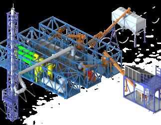 Установка термической деструкции УТД-2-800