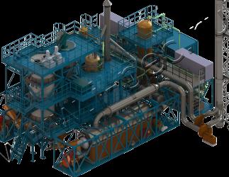 Установка термической деструкции УТД-2-800 (2000)
