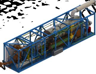 Установка термической деструкции УТД-2-200