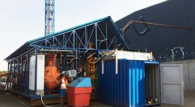 Установка утилизации отходов ASR