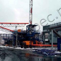 Установка утилизации нефтесодержащих отходов УТД-2-800 (2000)