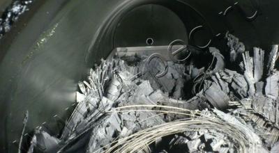 Установка утилизации шин УТД-1