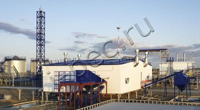 Установка утилизации замазученных грунтов, УТД-2-800
