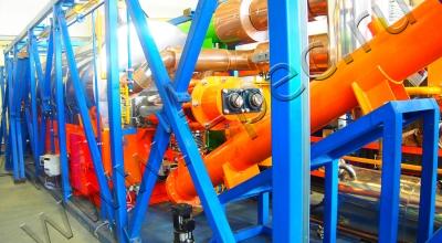Установка переработки нефтешламов УТД-2-200