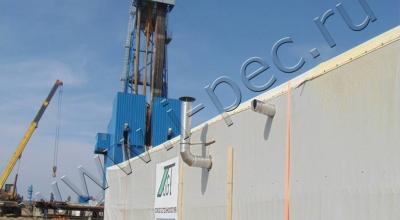 Установка пиролиза УТД-1 на ООО «Газпром бурение»
