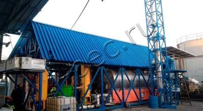 Установка утилизации резервуарных нефтешламов УТД-2-200М