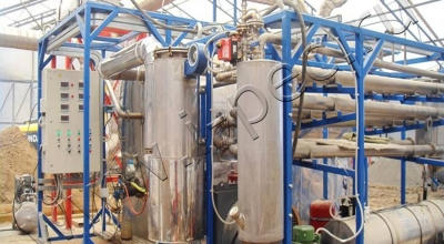 Утилизация отходов нефтяного промысла на УТД-1