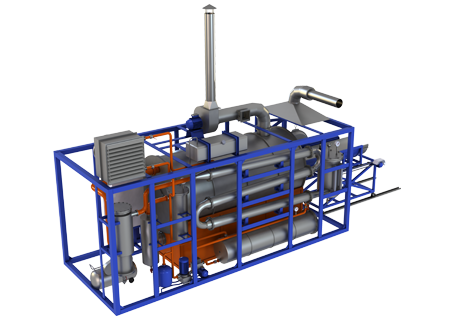 Batch Thermal Decomposition Plant (TDP-1)