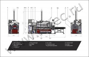 Pyrolysis process UTD-1