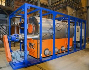 Оборудование для пиролиза отходов РТИ