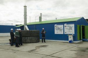Комплекс переработки шин на базе УТД-1